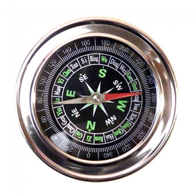 STAINLESS STEEL DIRECTIONAL MAGNETIC COMPASS 2.5″