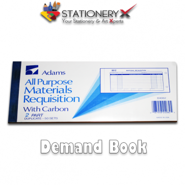 DEMAND BOOK – DEMAND DRAFT WITH CARBON PAPER DUPLICATE – 50 SETS