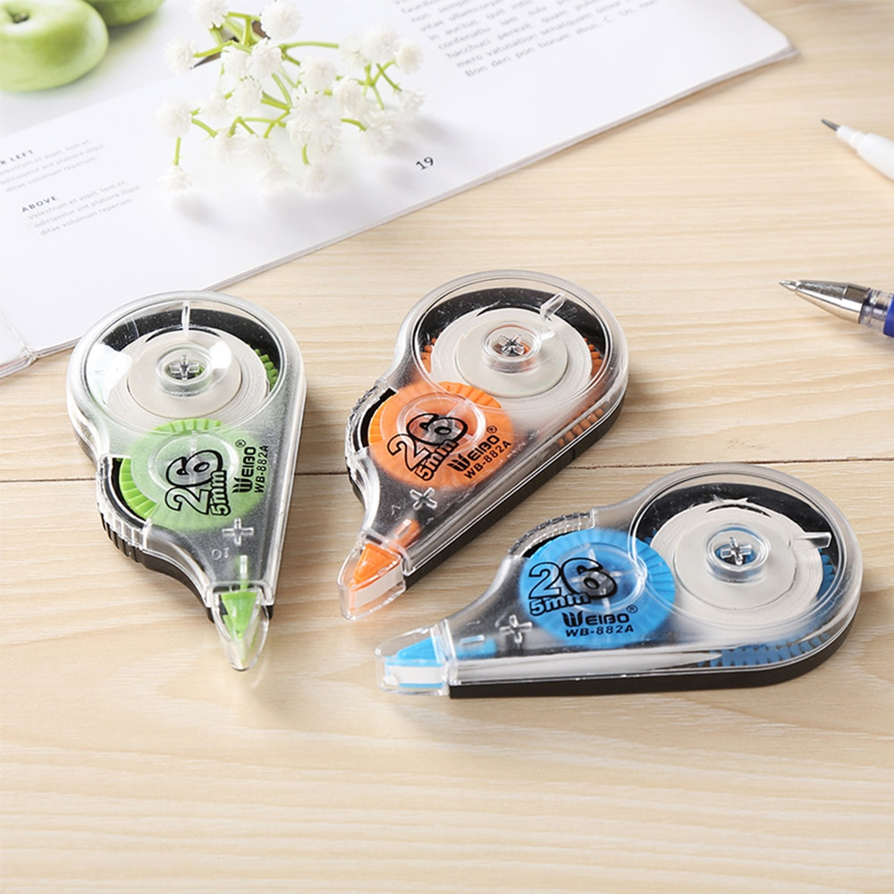 White Out Corrector Correction Tape