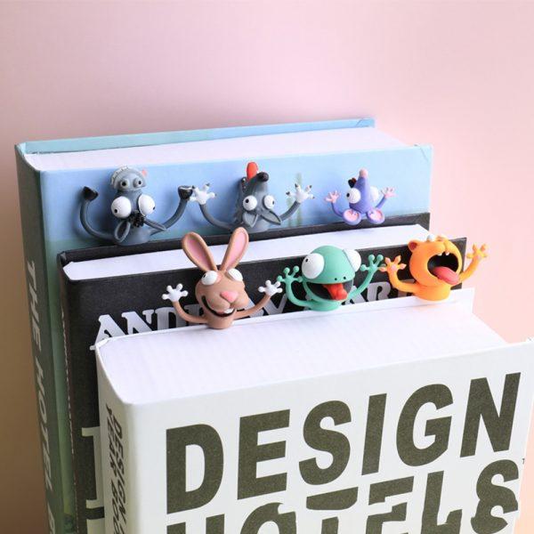 3D Creative PVC Stereo Cartoon Marker